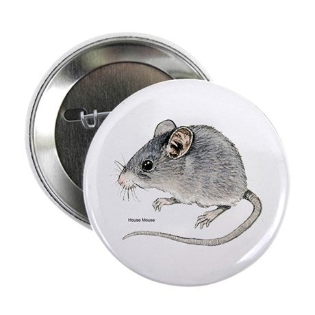 Mouse Rodent Button