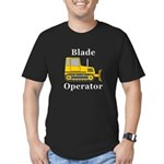 Blade Operator Men's Fitted T-Shirt (dark)