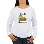 Blade Operator Women's Long Sleeve T-Shirt
