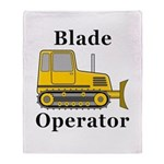 Blade Operator Throw Blanket