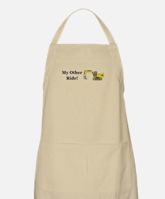 Track Hoe My Other Ride Apron
