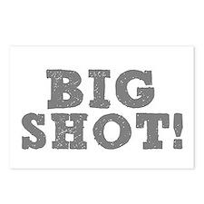 BIG SHOT! Postcards (Package of 8)