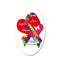 Autism Ribbon Wall Decal
