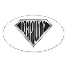 SuperDeputy(metal) Oval Decal