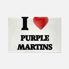 I love Purple Martins Magnets