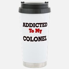 Addicted to my Colonel Travel Mug