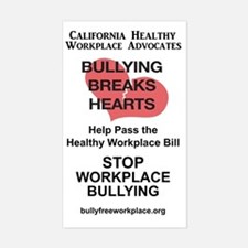 Funny Bullying workplace Decal