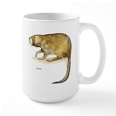 Muskrat Rodent Large Mug