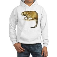 Muskrat Rodent (Front) Hoodie