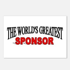 """The World's Greatest Sponsor"" Postcards (Package"