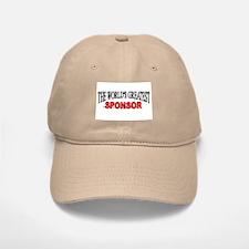 """""""The World's Greatest Sponsor"""" Baseball Baseball Cap"""
