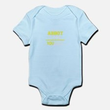 ABBOT thing, you wouldn't understand ! Body Suit