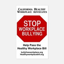 Bullying workplace Decal