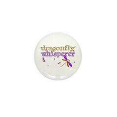 Dragonfly Whisperer 2 Mini Button (100 pack)