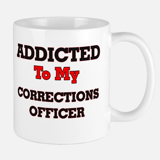 Addicted to my Corrections Officer Mugs