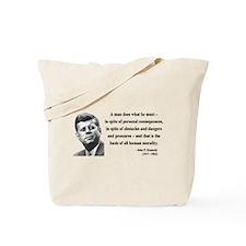 John F. Kennedy 10 Tote Bag