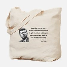 John F. Kennedy 10 Tote Bag