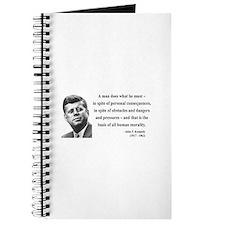 John F. Kennedy 10 Journal