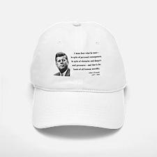 John F. Kennedy 10 Baseball Baseball Cap