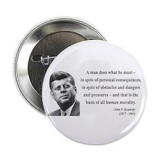 "John F. Kennedy 10 2.25"" Button"