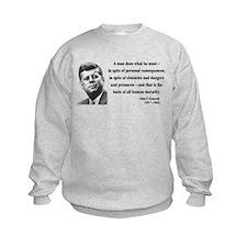 John F. Kennedy 10 Sweatshirt