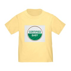 CERTIFIED BABY T