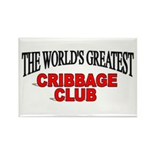 """The World's Greatest Cribbage Club"" Rectangle Mag"
