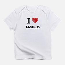 I love Lizards Infant T-Shirt