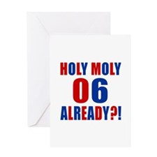 06 Holy Moly Birthday Designs Greeting Card
