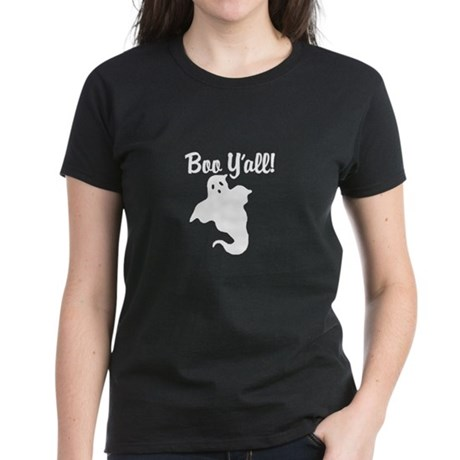 Boo Y'all! Women's Dark T-Shirt