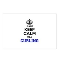 CURLING I cant keeep calm Postcards (Package of 8)
