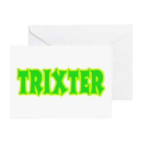 Trixter Halloween Humor Greeting Card