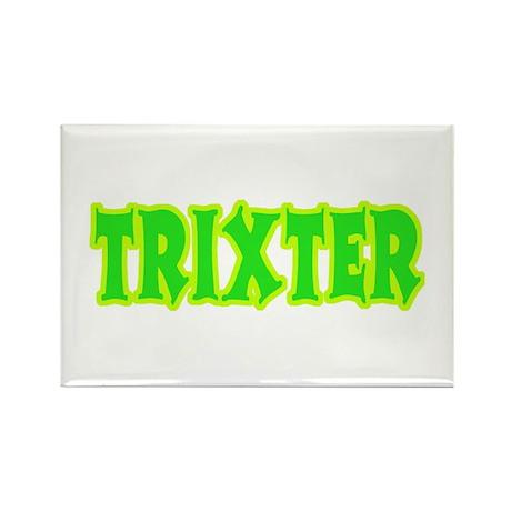 Trixter Halloween Humor Rectangle Magnet (10 pack)