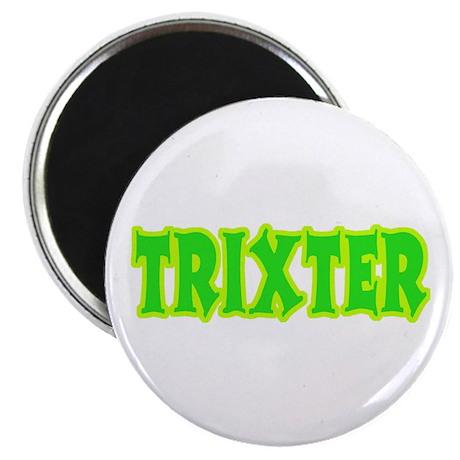 Trixter Halloween Humor Magnet