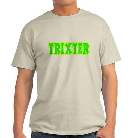 Trixter Halloween Humor Light T-Shirt
