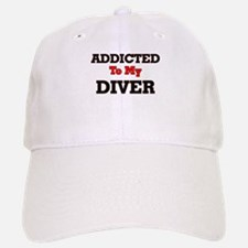 Addicted to my Diver Baseball Baseball Cap