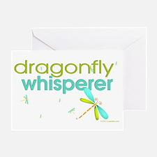 dragonfly whisperer Greeting Card