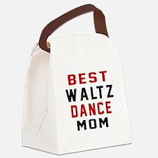 Waltz Dance Mom Designs Canvas Lunch Bag