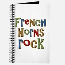French Horns Rock Lover Player Journal