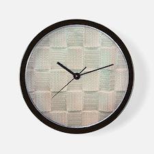 Unique Satin Wall Clock