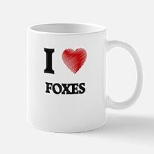 I love Foxes Mugs