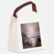 Cute Lighthouse Canvas Lunch Bag