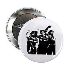 Black Power Panther Sistahs Button