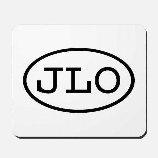 JLO Oval Mousepad