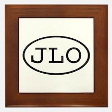 JLO Oval Framed Tile