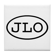 JLO Oval Tile Coaster