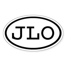 JLO Oval Oval Decal