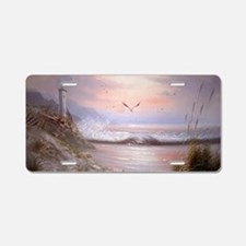 Funny Lighthouse Aluminum License Plate