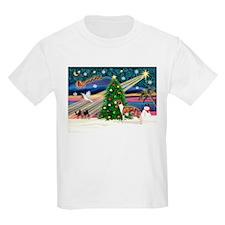 Xmas Magic / Whippet (#1) T-Shirt