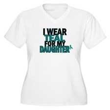 I Wear Teal For My Daughter 5 T-Shirt